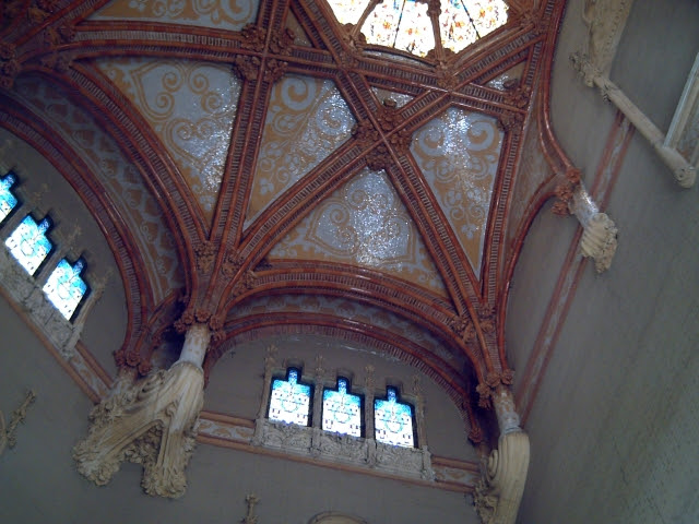 Catalan Modernisme: Sant Pau Hospital's Ceiling