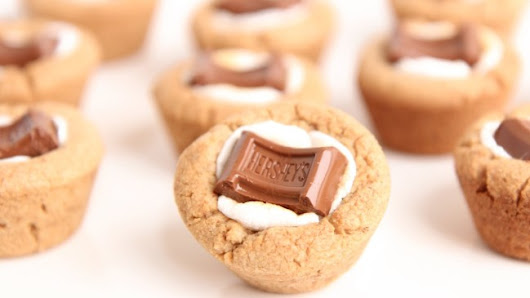 Heavenly S'Mores Cookie Cups | Afternoon Baking With Grandma