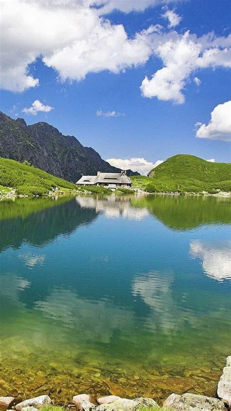 sky nature lake clear khlfyat ayfon iphone  iphone