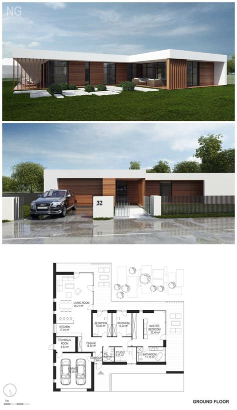 small modern house designs  floor plans awesome modern