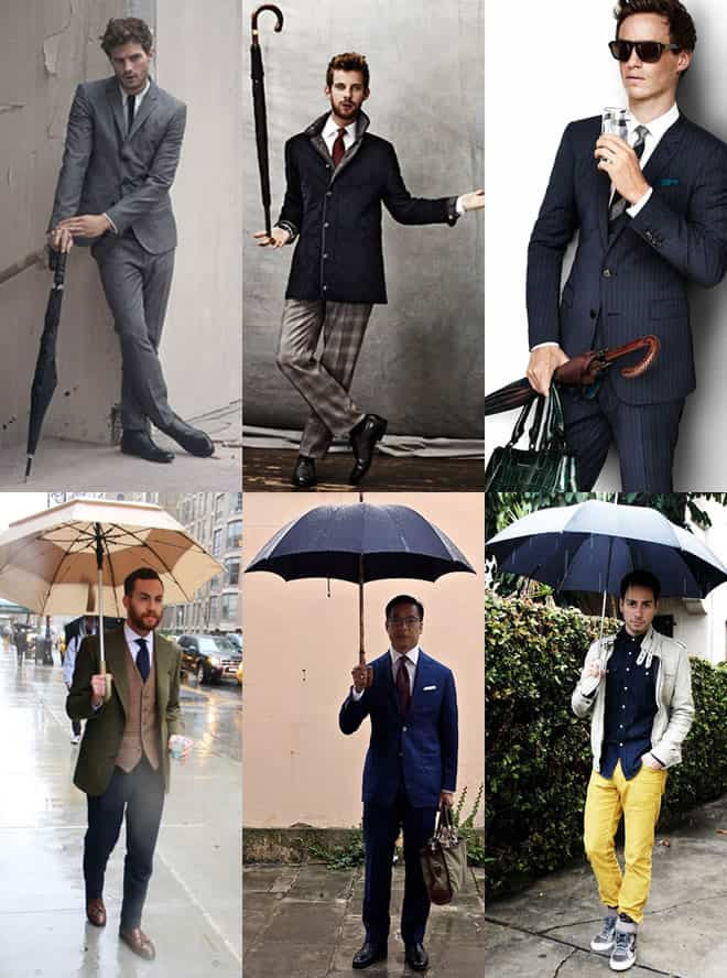 Men's Umbrella Lookbook