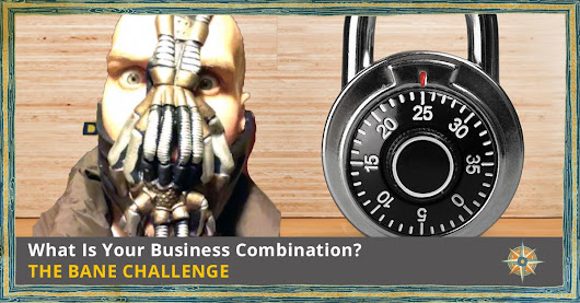 What Is Your Business Combination? | The Bane Challenge Part 1 - Of the Sea | Advertising Agency and Marketing Firm in Buffalo, NY
