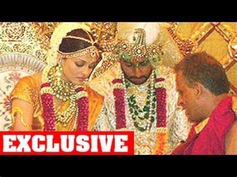 Aishwarya Rai & Abhishek Bachchan's UNSEEN WEDDING PHOTOS