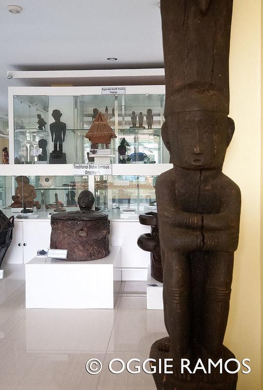 Marikina Book and Ethnology Museum - Entrance Totem Pole