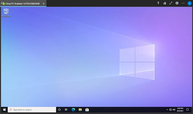 Connect to Windows 365 Cloud PC with RDP