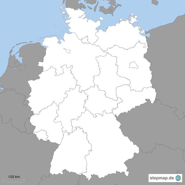 Deutschlandkarte Bundesländer Blanko | My blog