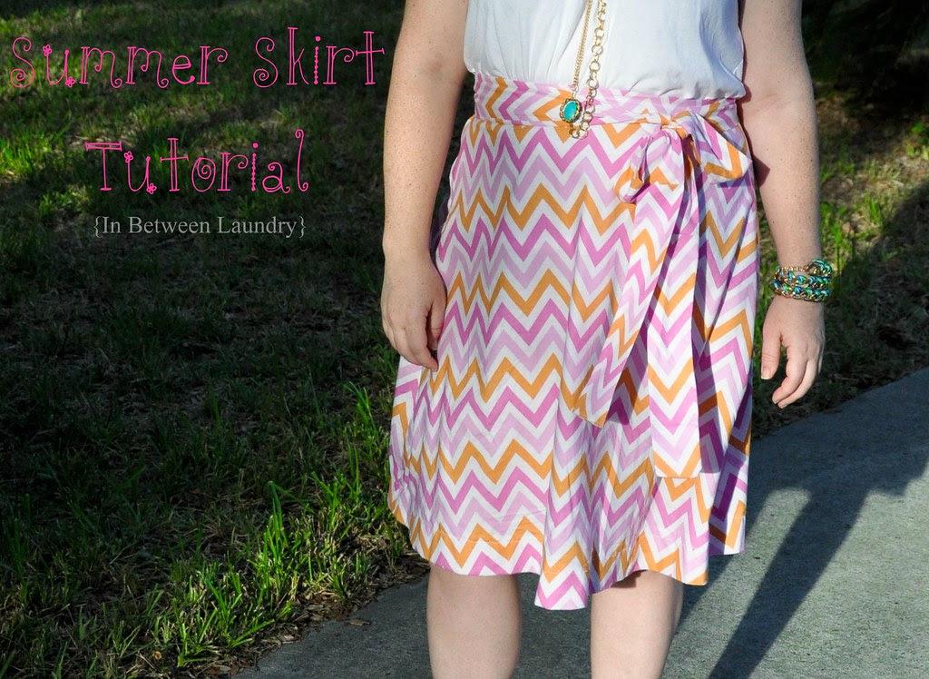 chevron skirt pattern