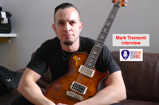 @MarkTremonti interview in Paris before the Tremonti concert - The Guitar Channel