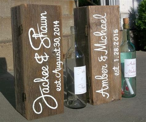 1000  ideas about Wedding Wine Boxes on Pinterest   Wine