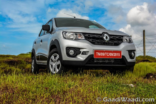 Renault Kwid is the Best Selling Non-Maruti Car; Beats Hyundai i10 in March 2016 Sales - Gaadiwaadi.com