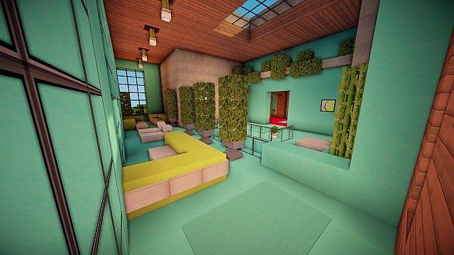 Cascade Modern Mansion Minecraft House Design