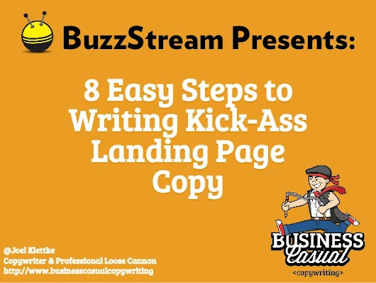 8 Easy Steps to Writing Killer Landing Page Copy