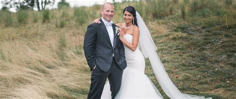 Gina and Aaron   Great River Golf Club, Milford CT.   The