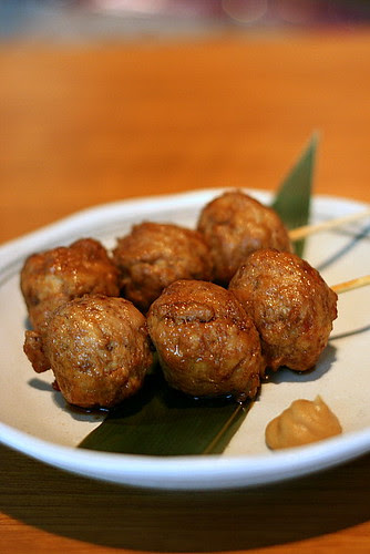 Tori Tsukune - Grilled Chicken Meat Ball