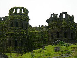 Ruins of Fort Raigad, Maharashtra, India