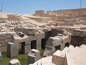 Nearby Abydos (temple of Osiris pictured), aft...