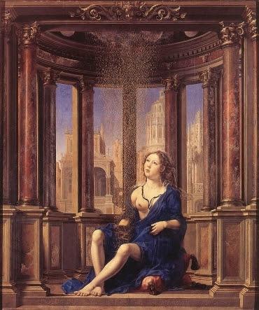 Danae —  Jan Gossaert aka Mabuse (1527)