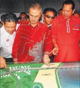 PM rasmi Jambatan sultan Yahya Kedua ...... terbengkalai sekarang, Juta-juta dah hangus...malulah!!