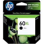 HP 60XL Ink Cartridge, Black - 1-pack