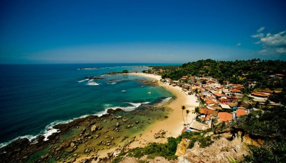 Morro, au Brésil