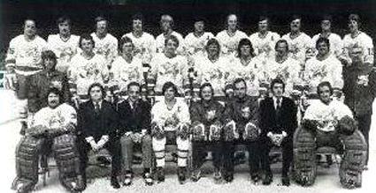 1974-75 Minnesota Fighting Saints team, 1974-75 Minnesota Fighting Saints team