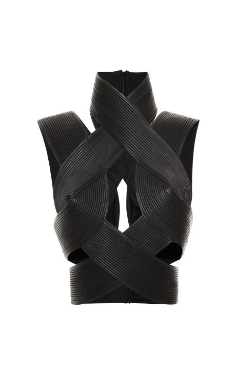 Corded Interlock Top by Dion Lee for Preorder on Moda Operandi
