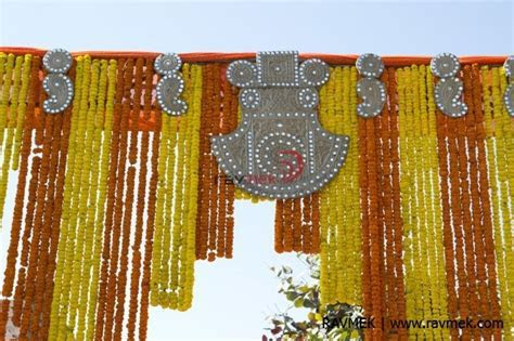 Gate decor, Marigold decor   Venue: Kekri Rajasthan