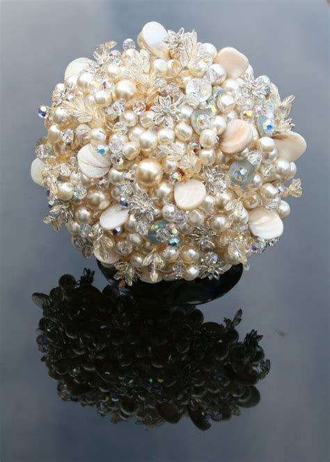 1000  images about Pearl Bouquet Ideas on Pinterest
