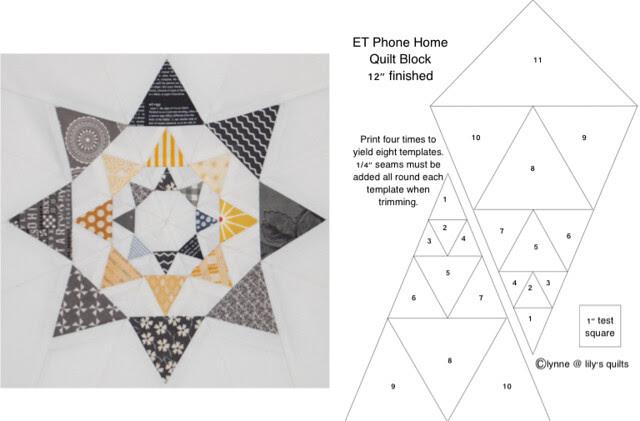 ET phone home quilt block