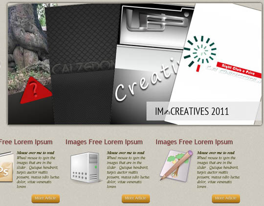 13.free HTML5 website templates 23 Free HTML5 Website Templates