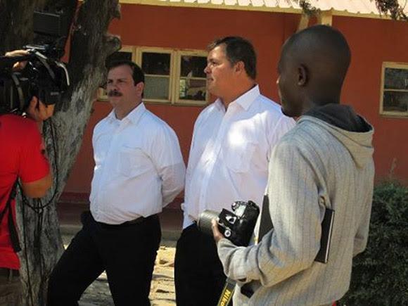 Recorrido por la unidad donde Fernando estuvo durante la guerra en Angola.