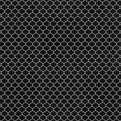 ML Moroccan Tile CHALKBOARD small scale 12 and a half inch SQ 350dpi mel stampz
