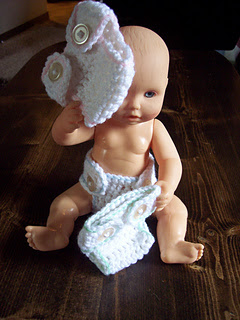 Craft passions diapers for doll babies free crochet for 5 inch baby dolls for crafts