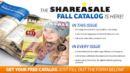ShareASale Catalog Mailing