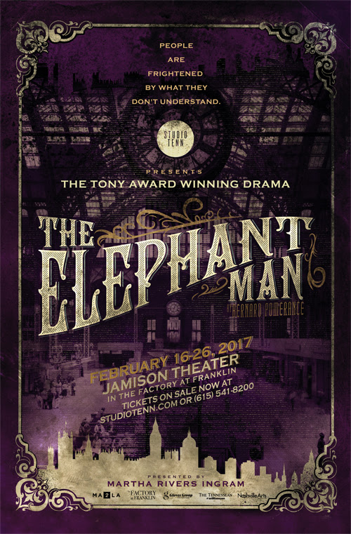CVPA Faculty, Students, Alumni Well Represented in Studio Tenn's 'Elephant Man'
