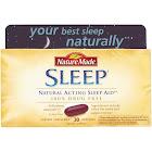 Nature Made Natural Acting Sleep Aid, Softgels - 30 count