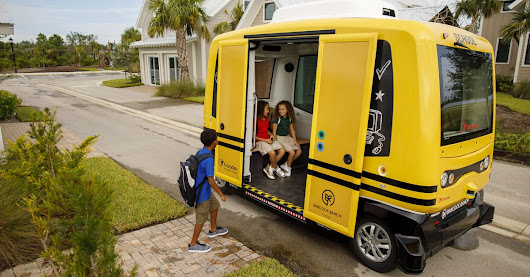 Florida town is first in the world to test autonomous school shuttles
