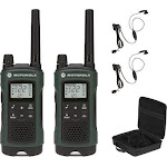 Motorola - Talkabout 35-Mile, 22-Channel FRS/Gmrs 2-Way Radio (Pair) - Dark Green