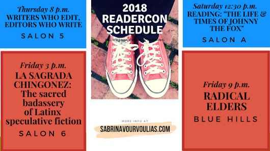 Who's going to be at Readercon 2018?