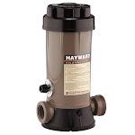 """Hayward In-Line Chlorinator 9 lb Capacity for 1.5"""" Plumbing"""