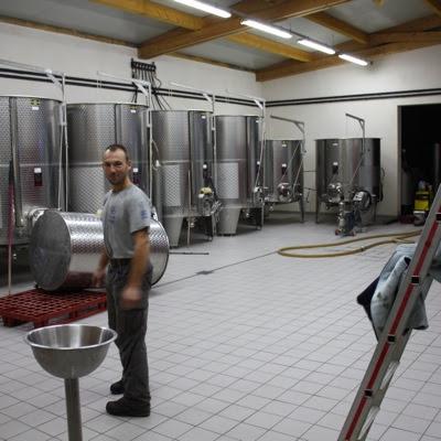 Aurélien Verdet in his (fairly) new vatroom