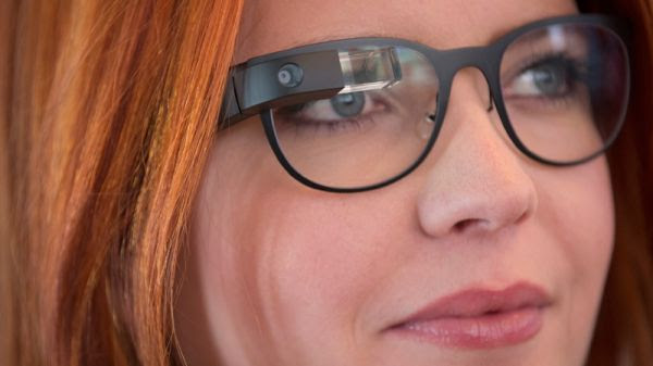 Google Glass. (screenshot)