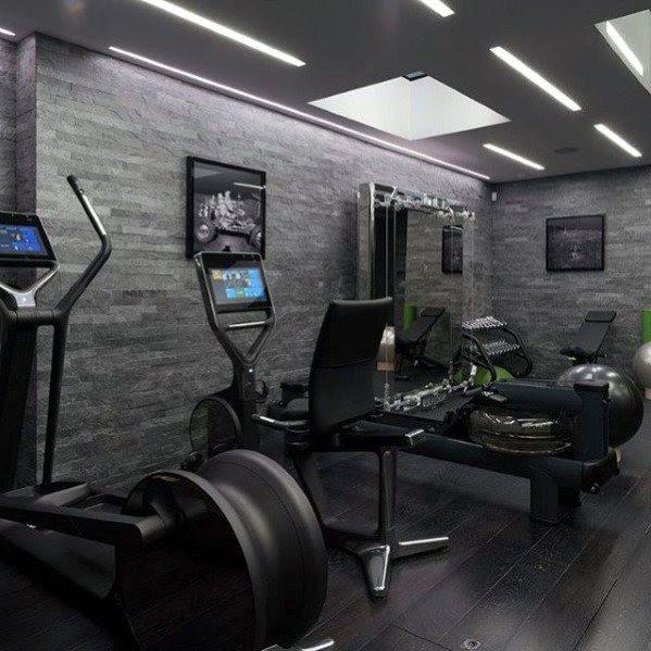 Top 40 Best Home Gym Floor Ideas - Fitness Room Flooring ...