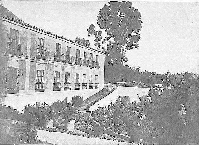 Palacio de Buenavista a comienzos del siglo XX. Foto Rodríguez