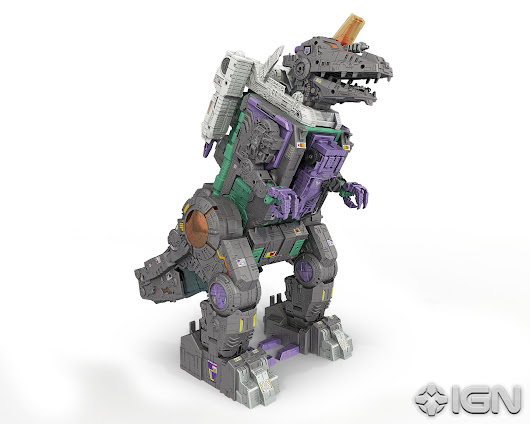 Generations Trypticon full reveal - Transformers News - TFW2005
