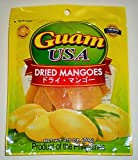 Delicious Cebu Philippine Ripe Dried Mangoes (70 grams) (8 Packs)