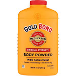 Gold Bond Triple Action Relief Medicated Body Powder, 10 oz