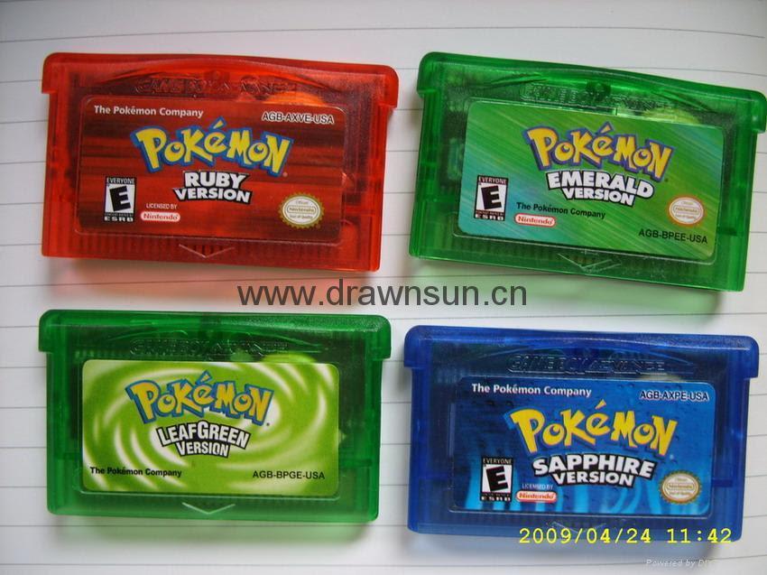 Gameboy games-Color Pokemon games