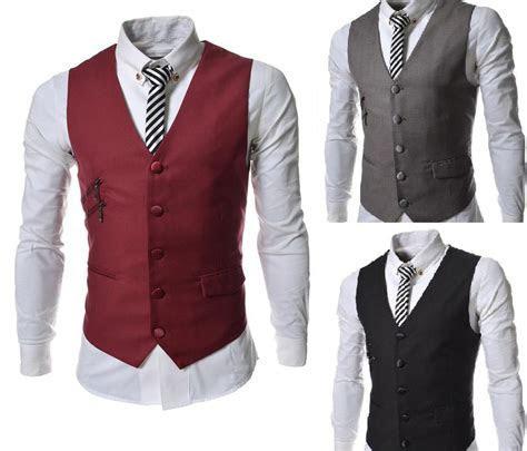 Formal Men'S Waistcoat New Style Groom Tuxedos Wear