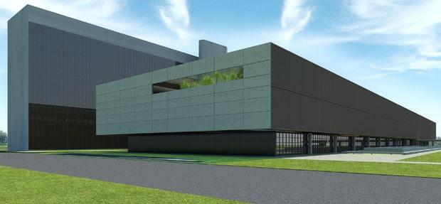 Novo anexo da Câmara tem orçamento inicial de R$ 320 milhões (Foto: Reprodução)